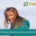 5 Year Old Kaiya Talks About Extended World Travel